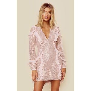 For love and lemons Bumble long sleeve ruffle